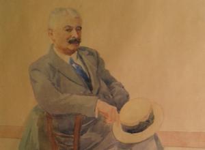 Portrait d'Eugène Wilhelm par Charles Spindler
